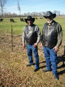 Chief Rancher, Calvin Barnett & Chief Rancher (Emeritus), Claude Millsaps